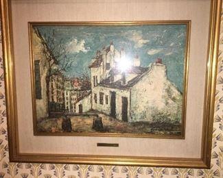 Utrillo painting