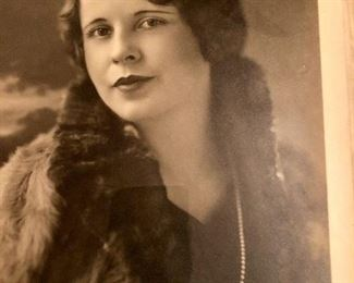 Signed 1930's photograph