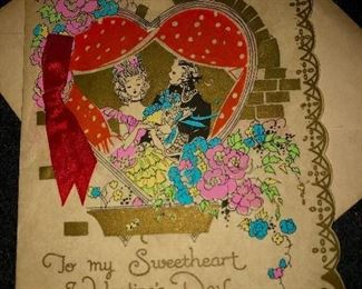 Sweetheart Valentine from 1940's