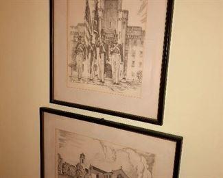 Prints signed