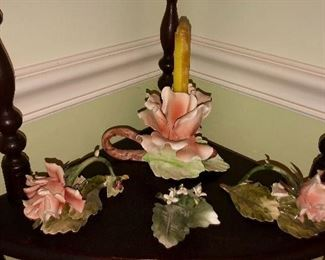 Italian bisque Capodimonte Pieces