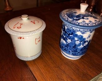 High quality Japanese/China tea caddy's