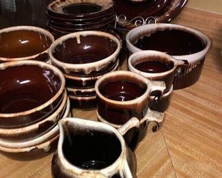 pfaltzgraff Drip-glaze pottery dinnerware