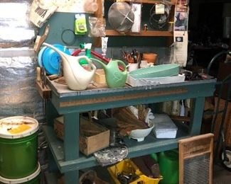 Master gardeners potting bench