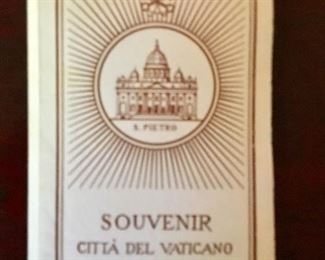 Postage stamp Souvenir from the Vatican