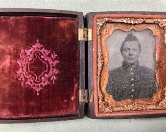 Civil war union soldier in Union Forever case