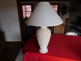 one  of  two  matching  lamps