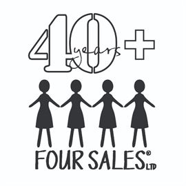 Four Sales 40years plus Logo