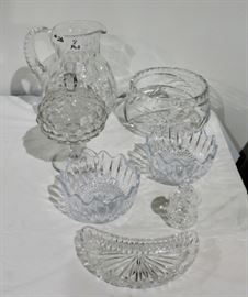 MORE CRYSTAL DISHES