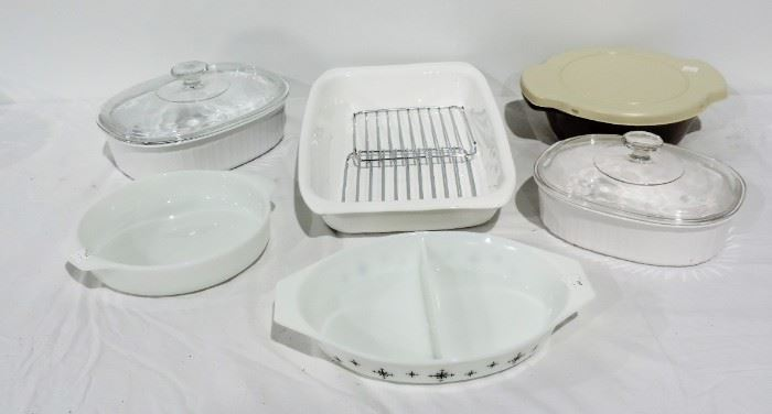 CORNING AND PYREX COOK WARE