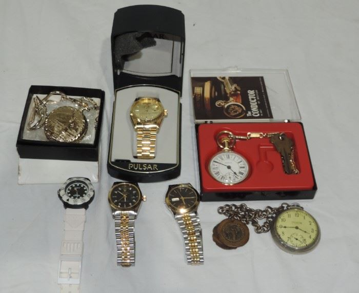 WRIST WATCH AND POCKET WATCH COLLECTION