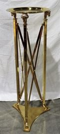 BRASS RAMS HEAD PLANT STAND