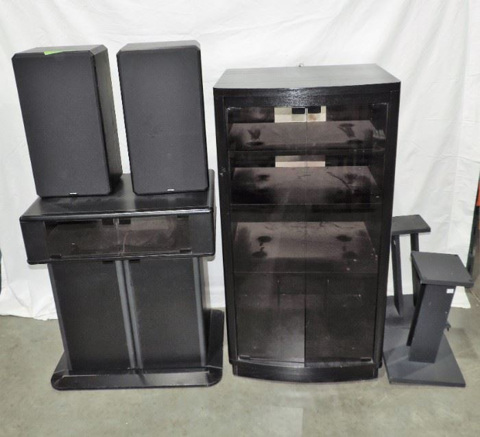 ELECTRONIC CABINETS AND STANDS SPEAKERS