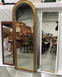 LOT OF 3 WALL MIRRORS