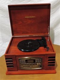 CROSLEY RADIO AND PHONOGRAPH IN CABINET