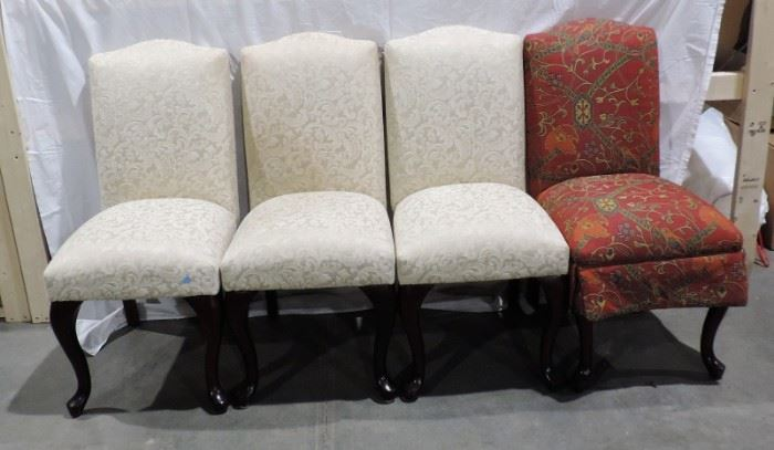 SET OF 4 DINNING TABLE CHAIRS