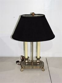 CANDLESTICK ELECTRIC LAMP