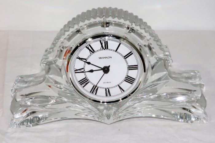 SIGNED CRYSTAL CLOCK