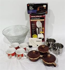 MISC. KITCHENWARE LOT
