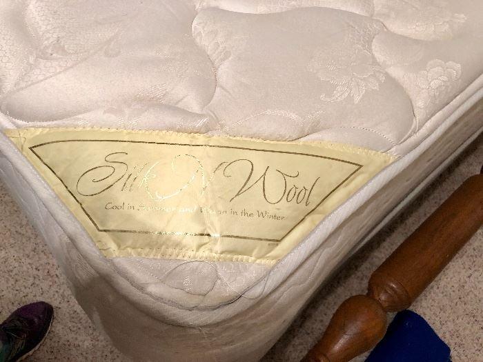 Silk and Wool Mattress
