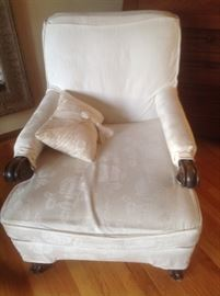 Vintage white chair