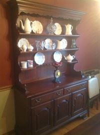 Vintage open China cabinet...makes a great bookcase..  available presale for $185