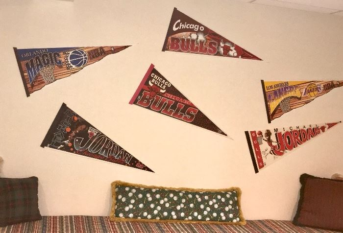Chicago Bull Pennants