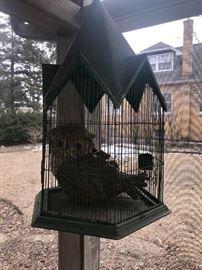 Bird Cage w/ Owl