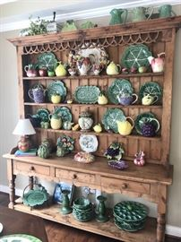 Amazing collection of smalls; Stunning Hutch