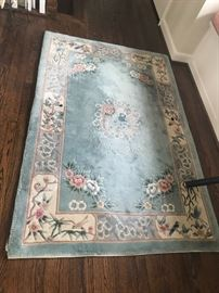 Rectangle Oriental area rug