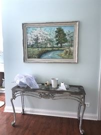 Foyer/Sofa table-staged view
