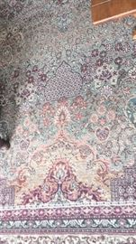 close up - Beautiful large area rug