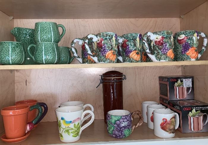 Decorative Mugs and coffee cups
