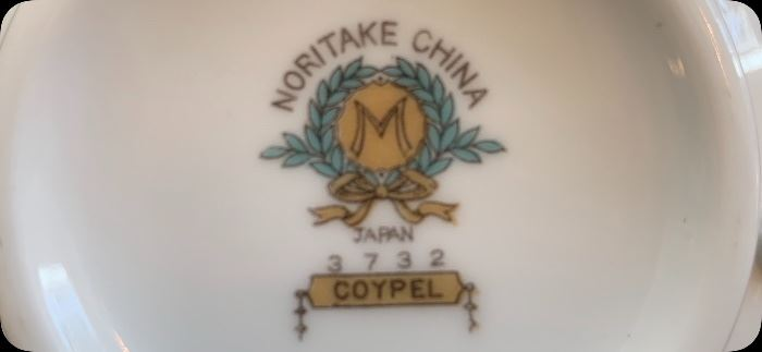 Noritake Chine - Coypel