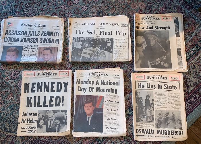Kennedy  newspapers