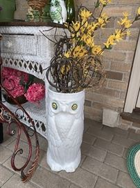 Owl umbrella holder