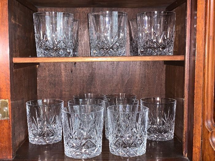 Crystal Bar Glasses
