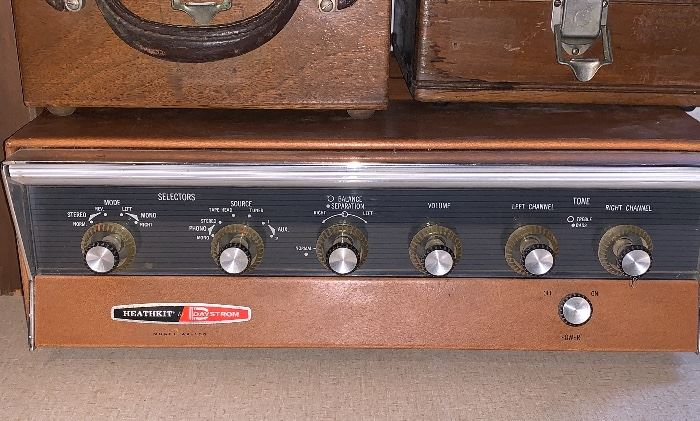 Vintage Heathkit Day Strom Model AA 100 Amplifier