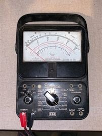 Vintage Simpson 260 Series 6 P Overload Protected Volt-OHM Milliammeter