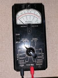 Vintage Heathkit Handitester  1 of 2