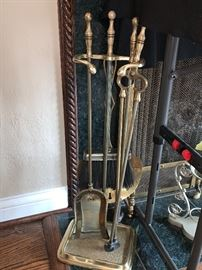 Fireplace equipment