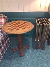 Chess or Checker table