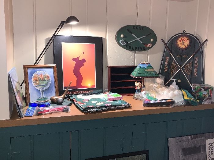 Staged items-Golf items