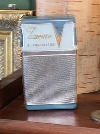 Vintage Zephyr Transistor radio