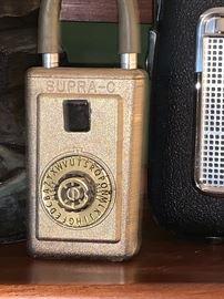 Vintage Supra-C lock