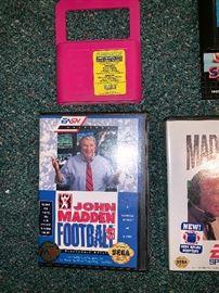 Eliminator Genesis Megadrive System, John Madden Football 93