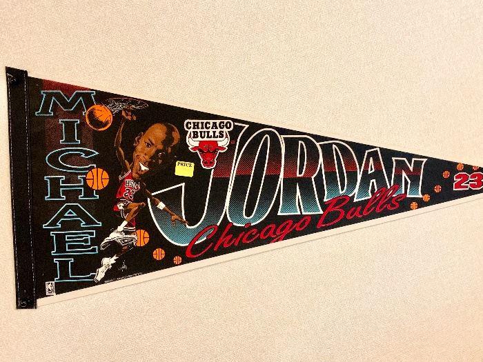 Michael Jorden #23 pennant