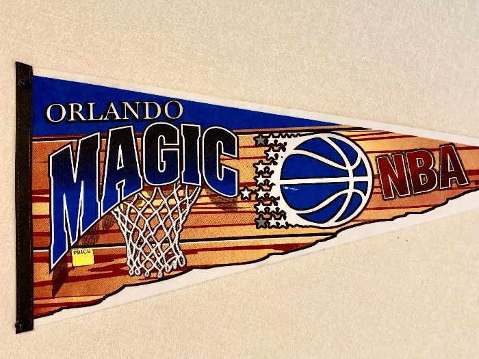 Orlando Magic BNA pennant