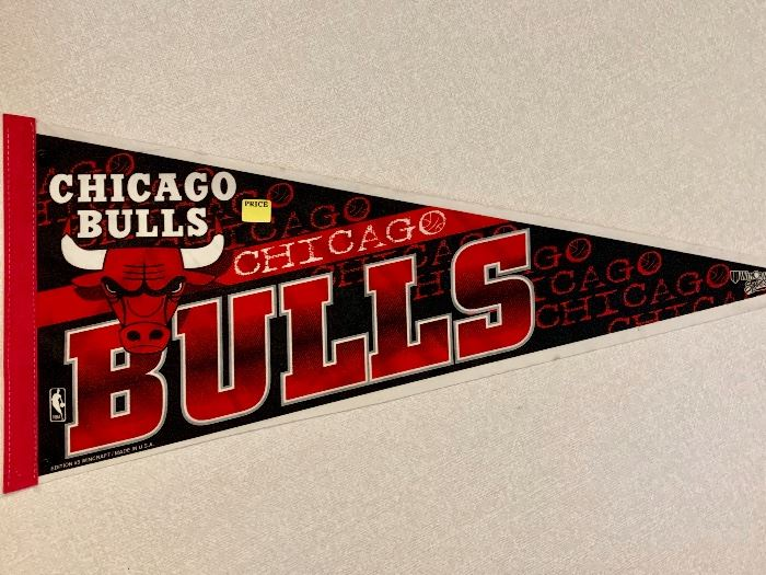 Chicago Bulls pennant