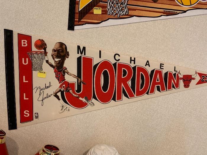 Michael Jordan pennant